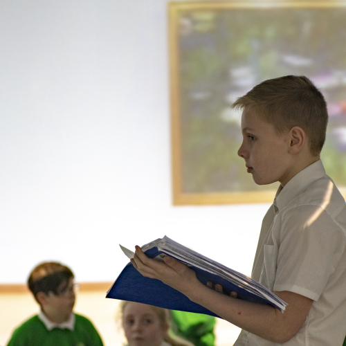 Delivering a presentation | Immersive Classroom
